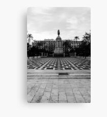 Seville architecture of Plaza Nueva Canvas Print