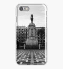 Seville architecture of Plaza Nueva iPhone Case/Skin