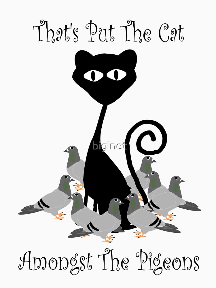 Cat Amongst The Pigeons  by biglnet