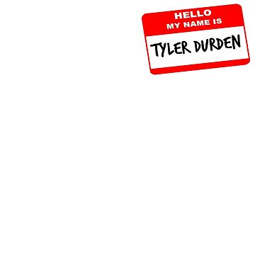 My Name Is Tyler Durden (Pocket) by bmlr95