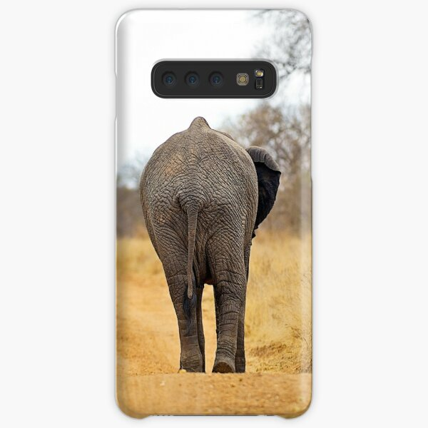 African Elephant (Loxodonta africana) mother and baby Samsung Galaxy Snap Case