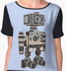 Camera Bot 6000 Women's Chiffon Top
