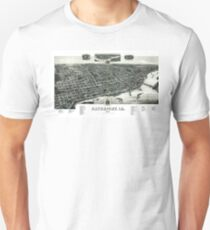 Davenport - Iowa - 1888 Unisex T-Shirt