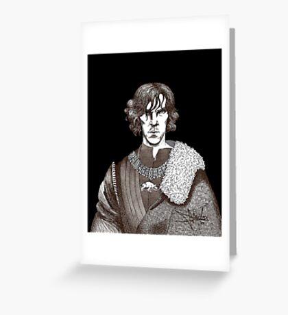 The Hollow Crown - Shakespeare's Richard III (brown) Greeting Card