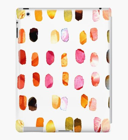 strokes of colors iPad Case/Skin