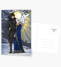 the sword and the saint Postcards