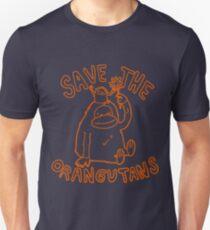 Save The Orangutan Homage Slim Fit T-Shirt