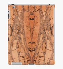 Brown cork material texture iPad Case/Skin