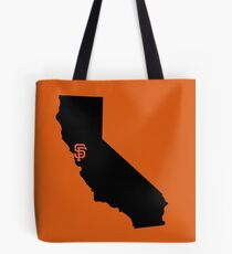 San Francisco Giants - California Tote Bag