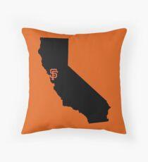 San Francisco Giants - California Throw Pillow