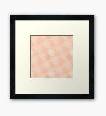 Layered Vine Roses Framed Print