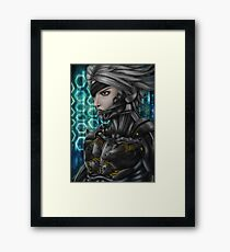 Metal Gear: Raiden Framed Print