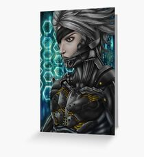 Metal Gear: Raiden Greeting Card