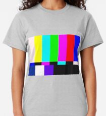 Television Test Bars Classic T-Shirt