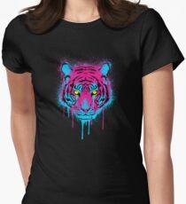 CMYK Tiger Graffiti T-Shirt