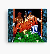Smash TV (SNES Title Screen) Canvas Print