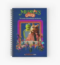 The Muppets Grease 2 Spiral Notebook