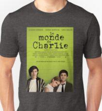 Le Monde De Charlie Affiche Unisex T-Shirt