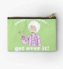 you're old! Zipper Pouch