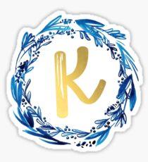 K Sticker