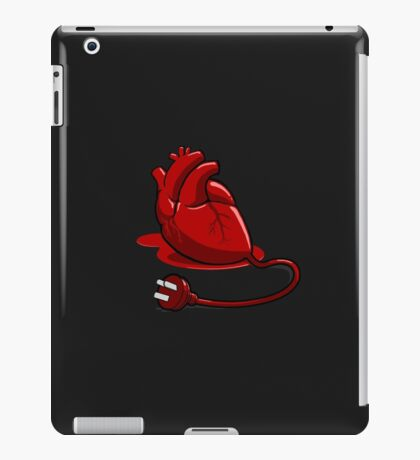 Unplug your heart iPad Case/Skin