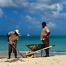 Beach Clean Up in Antigua by Christine  Wilson