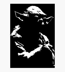 Star Wars Yoda Minimal  Photographic Print