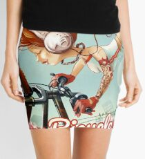 I want to ride my bicycle Mini Skirt