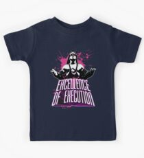 """Bret Hitman Hart """"Excellence of Execution! Kids Tee"""