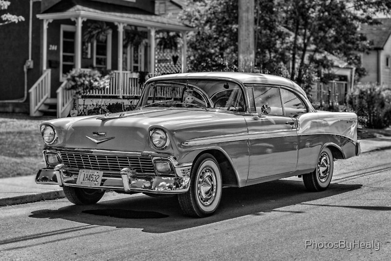 1956 Chevrolet Belair by Photos by Healy