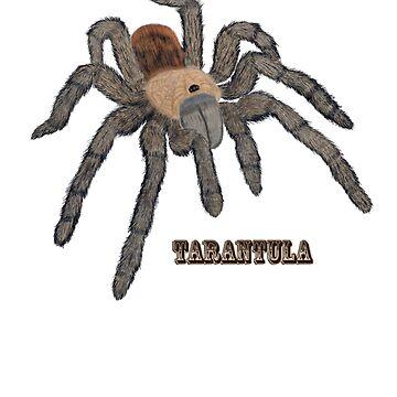 Tarantula T-shirt by Skyviper