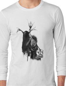 THE HERMIT - HEX TAROT Long Sleeve T-Shirt