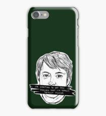 Peep Show | Mark | Green iPhone Case/Skin