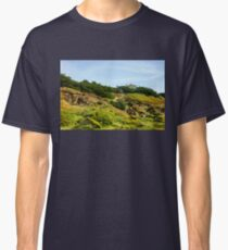 San Francisco Colorful Spring - Hilltop House With a View Classic T-Shirt
