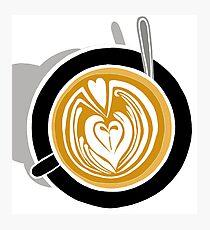Cafe Latte Photographic Print