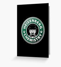 Heisenberg Chemistry Greeting Card