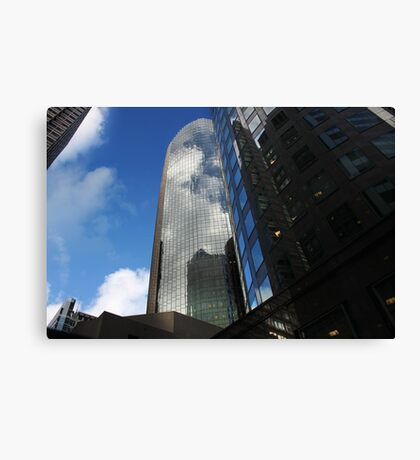 Cloud Reflections in the Windows Canvas Print