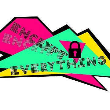 Encrypt Everything by screenhugger