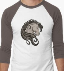 Brown Stallion Men's Baseball ¾ T-Shirt
