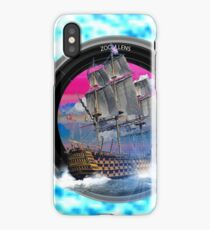 boat photogrady zoom iPhone Case/Skin
