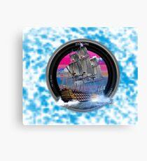 fotogradia de barco zoom Canvas Print