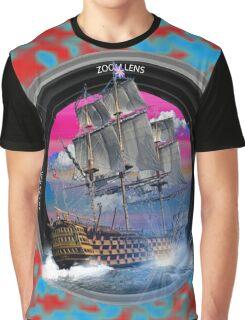 fotogradia de barco zoom Graphic T-Shirt