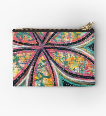 Starstruck Bloom - an activated Inner Power Painting Studio Pouch