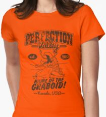 Perfection Valley Womens Fitted T-Shirt