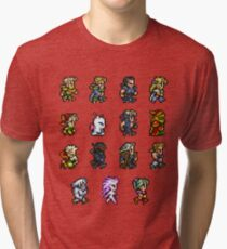 FINAL FANTASY VI Tri-blend T-Shirt