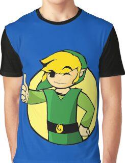 Vault Boy Zelda Graphic T-Shirt