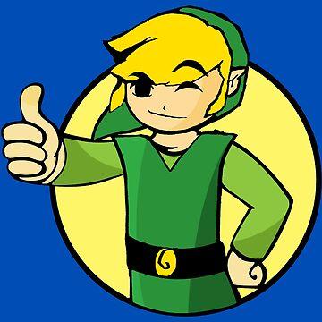 Vault Boy Zelda by UnionTee
