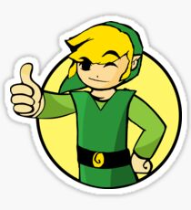 Vault Boy Zelda Sticker