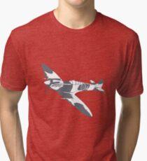 Two Tone Spitfire Tri-blend T-Shirt