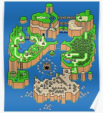 Super Mario World Posters | Redbubble